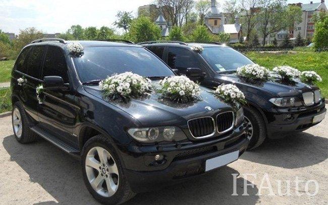 Аренда BMW X5 E53 на свадьбу Івано-Франківськ
