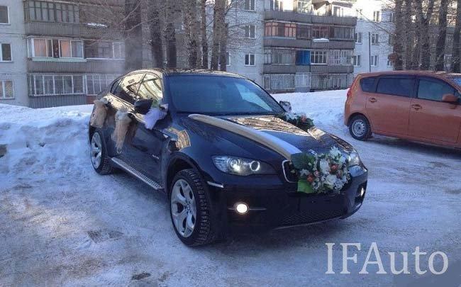 Аренда BMW X6 на свадьбу Івано-Франківськ