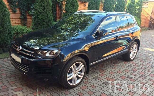 Аренда Volkswagen Touareg на свадьбу Івано-Франківськ