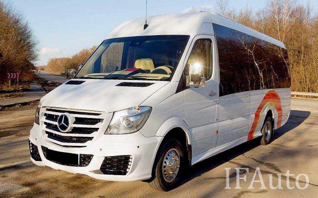 Аренда Мікроавтобус Mercedes Sprinter VIP на свадьбу Івано-Франківськ