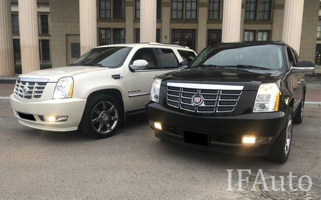 Аренда Cadillac Escalade на свадьбу Івано-Франківськ