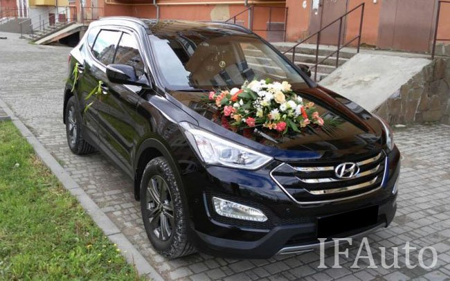 Аренда Hyundai Santa Fe на свадьбу Івано-Франківськ