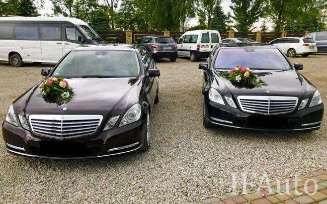 Аренда Mercedes E-Class W212 на свадьбу Івано-Франківськ