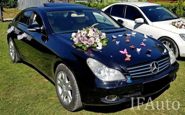 Аренда Mercedes CLS на свадьбу Івано-Франківськ