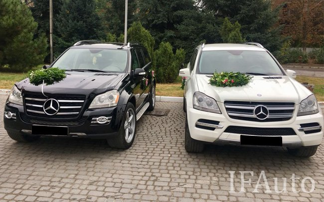 Аренда Mercedes GL на свадьбу Івано-Франківськ