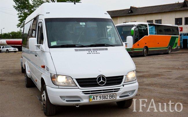 Аренда Мікроавтобус Mercedes Sprinter 416 на свадьбу Івано-Франківськ