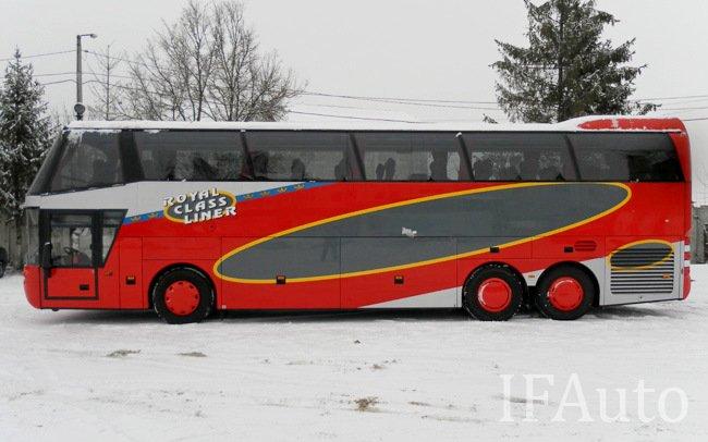Аренда Автобус Neoplan N117 Spaceliner на свадьбу Івано-Франківськ