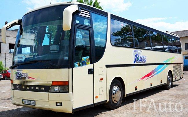 Аренда Автобус Setra S 315 на свадьбу Івано-Франківськ