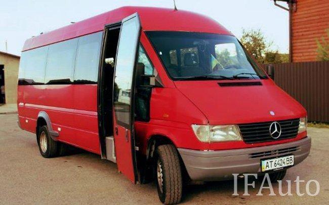 Аренда Мікроавтобус Mercedes Sprinter на свадьбу Івано-Франківськ