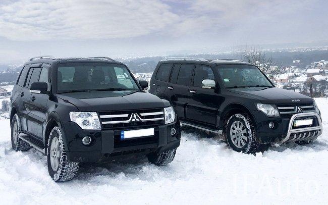Аренда Mitsubishi Pajero на свадьбу Івано-Франківськ