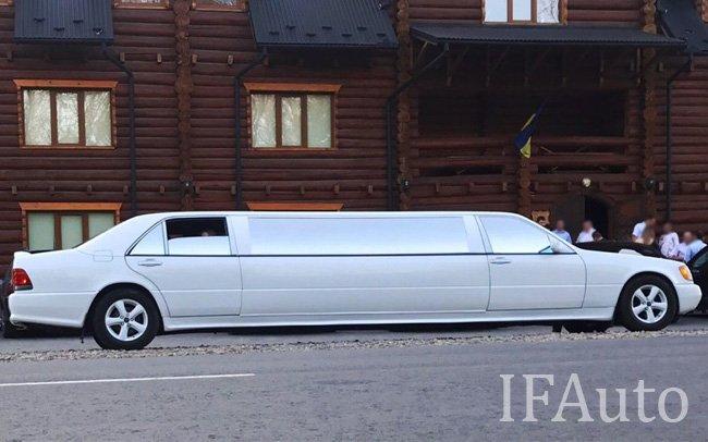 Аренда Лімузин Mercedes S-Class W140 на свадьбу Івано-Франківськ