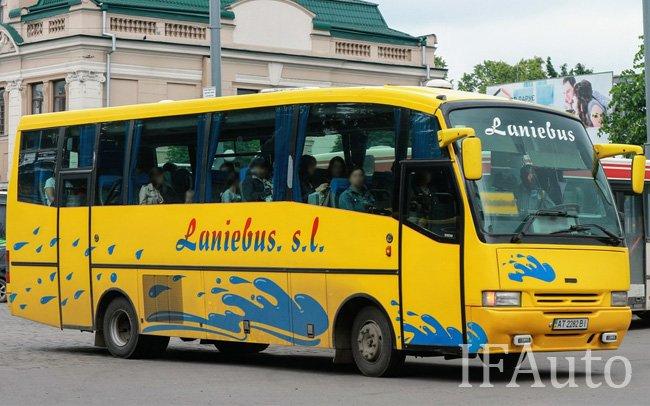 Аренда Автобус Iveco Pegaso на свадьбу Івано-Франківськ