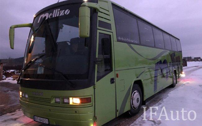 Аренда Автобус MAN 18.420 HOLC на свадьбу Івано-Франківськ