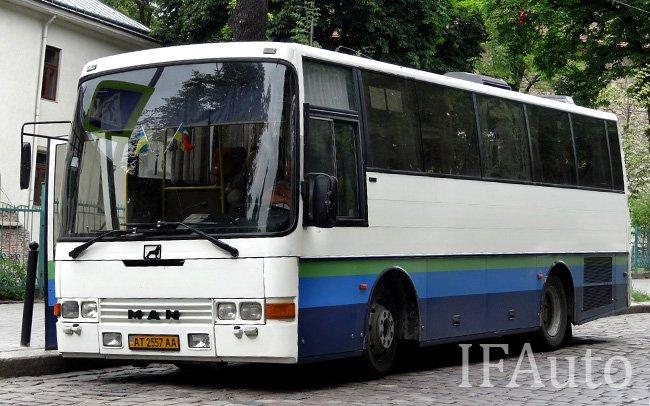 Аренда Автобус MAN 10.180 HOCL на свадьбу Івано-Франківськ