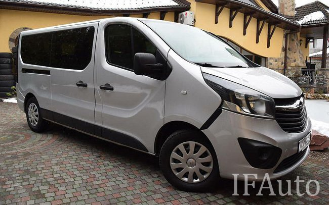 Мікроавтобус Opel Vivaro New