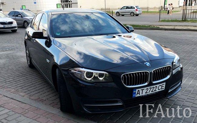 Аренда BMW 5 F10 на свадьбу Івано-Франківськ