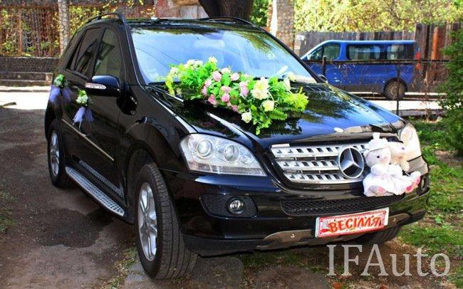 Аренда Mercedes ML320 на свадьбу Івано-Франківськ