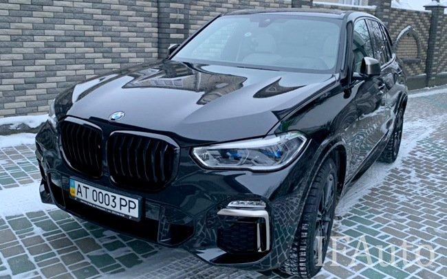 Аренда BMW X5 G05 на свадьбу Івано-Франківськ