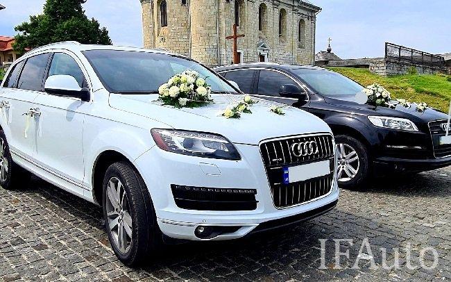 Аренда Audi Q7 на свадьбу Івано-Франківськ
